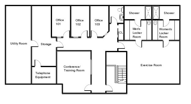 First Choice Floor Plan Lower Level
