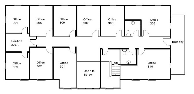First Choice Floor Plan Second Floor